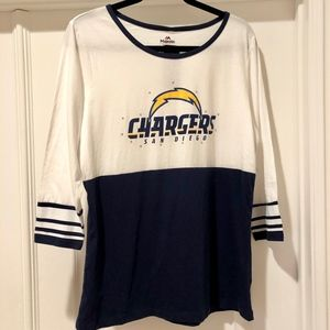 Women's Charger's Shirt - NFL Size XL